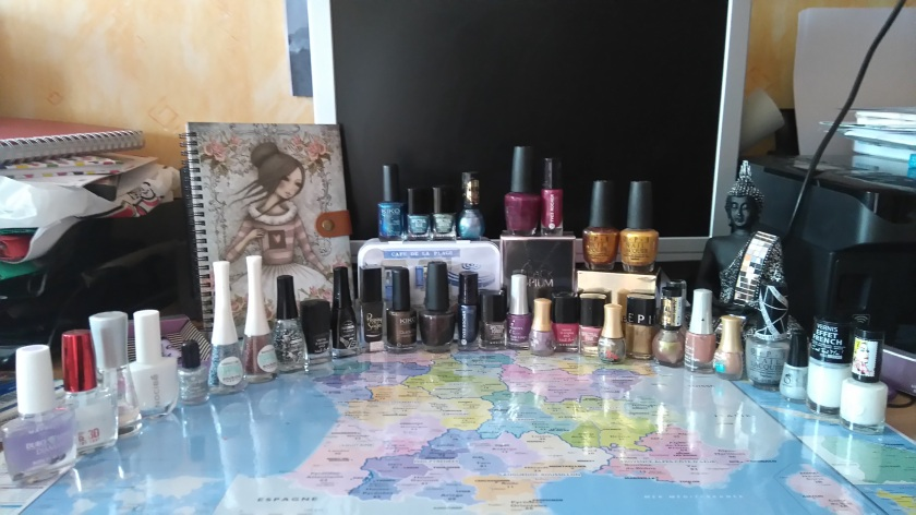 Ma petite collection de vernis